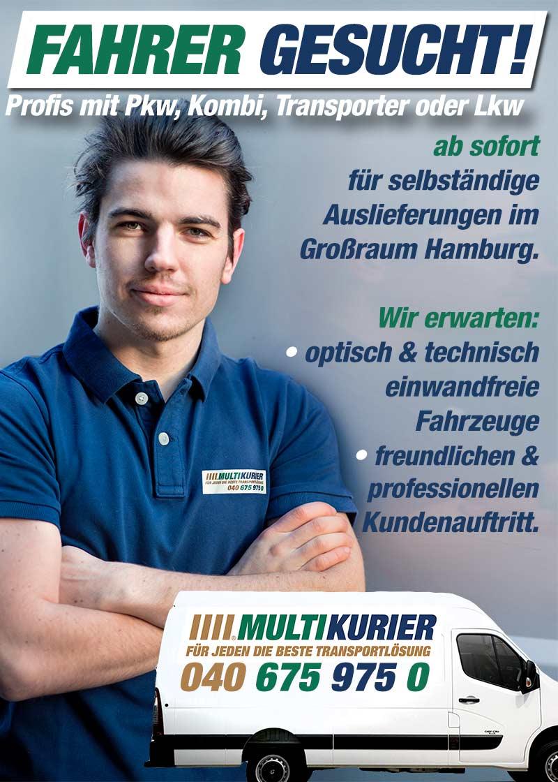Fahrer Gesucht-Multikurier